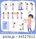 女性 保育士 保母さんのイラスト 44527612