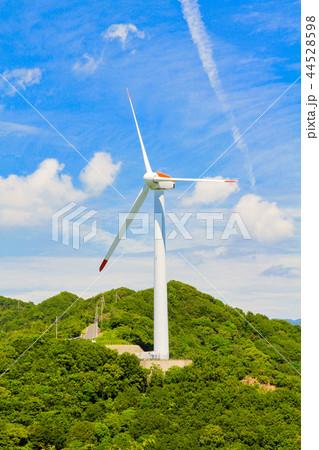 風力発電 風車 44528598
