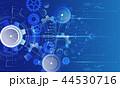 テクノロジー ギア ギヤのイラスト 44530716