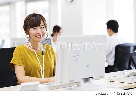 ビジネス 女性 チーム オフィス ビジネスウーマン 44532770