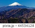丹沢表尾根・三ノ塔から見る冬の富士山 44534128
