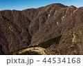 丹沢表尾根・三ノ塔から見る塔ノ岳と烏尾山 44534168