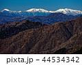 丹沢表尾根・三ノ塔から遠望する南アルプス 44534342