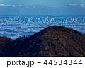 丹沢表尾根・三ノ塔から見る東京スカイツリー 44534344