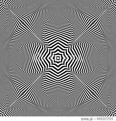 Decorative pattern. Striped lines texture. 44537755