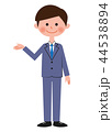 ビジネスマン スーツ ベクターのイラスト 44538894