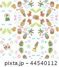 ハワイ パターン シームレス イラスト 44540112