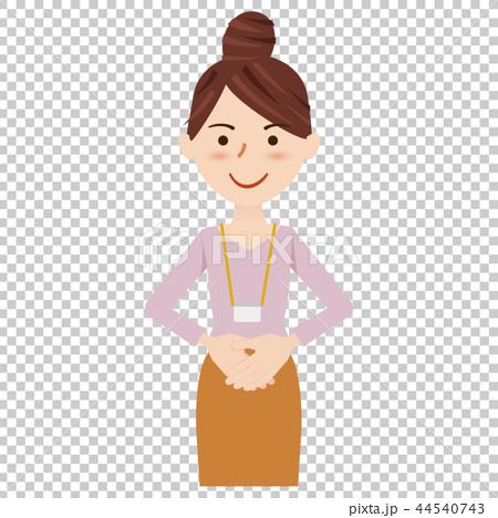 ビジネス 女性 カジュアル ビジネスウーマン スタッフ 44540743