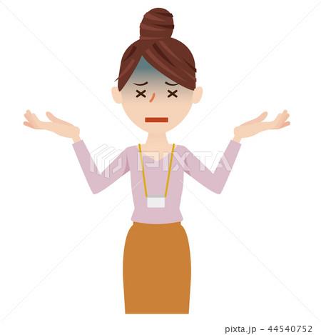 ビジネス 女性 カジュアル ビジネスウーマン スタッフ 44540752
