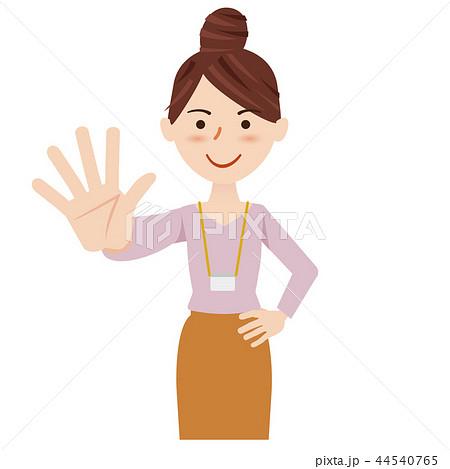 ビジネス 女性 カジュアル ビジネスウーマン スタッフ 44540765