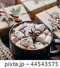 クリスマス ショコラ チョコレートの写真 44543575