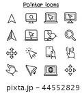 カーソル 鼠 ねずみのイラスト 44552829