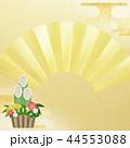 門松 扇 正月のイラスト 44553088