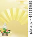 門松 扇 正月のイラスト 44553089