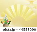 門松 扇 正月のイラスト 44553090