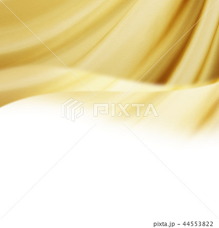 背景-ゴールド-波 44553822