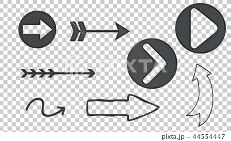 black arrow icon 03 44554447