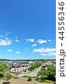 青空 晴れ 住宅街の写真 44556346