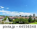 青空 夏 住宅街の写真 44556348