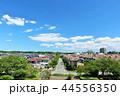 青空 夏 住宅街の写真 44556350