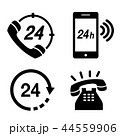 24 電話をする 呼ぶのイラスト 44559906