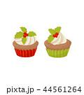 デザート カップケーキ マフィンのイラスト 44561264