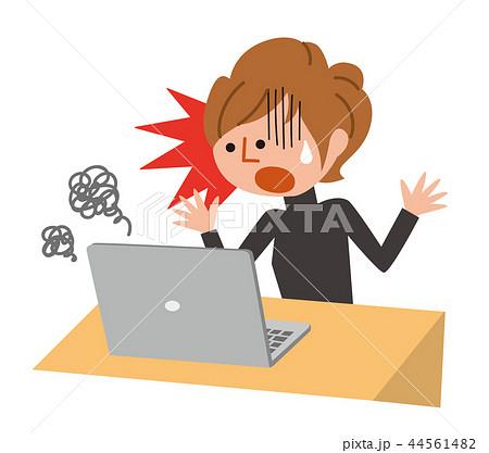 パソコンの故障 44561482