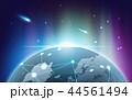 ネットワーク 通信 テクノロジーのイラスト 44561494