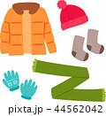 冬物の洋服、防寒着 44562042