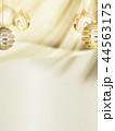 背景-クリスマス-ゴールド-キラキラ-飾り 44563175