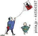江戸時代 子ども 男の子のイラスト 44564397