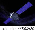 人工衛星 宇宙 サテライトのイラスト 44568980