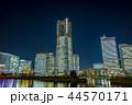 夜 都市 都会の写真 44570171
