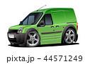 ベクトル 貨車 マンガのイラスト 44571249