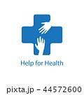 Help for health icon logo vector graphic design 44572600