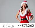 女性 クリスマス プレゼントの写真 44573202