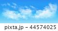 空 雲 背景のイラスト 44574025