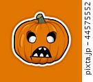 Halloween Pumpkin Cartoon 44575552