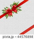 クリスマス デコレーション 装飾のイラスト 44576898