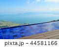 雲上のびわ湖テラス、びわ湖バレイ、美しい風景、滋賀県 44581166