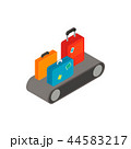 荷物 コンベア アイコンのイラスト 44583217