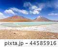 ボリビア ラグーナ・ベルデ 湖の写真 44585916