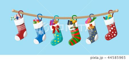 Christmas sock stocking 44585965