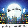 クリスマス カード 葉書のイラスト 44585969