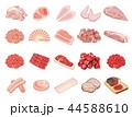 食材イラスト【食肉イラスト集】① 44588610