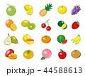 食材イラスト【果物アイコン集】① 44588613