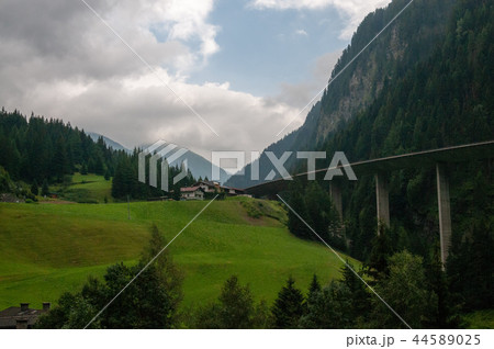 The A13 highway in Austria 44589025
