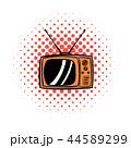 TV テレビ テレビジョンのイラスト 44589299