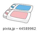 布団セット(ピンクとブルー) 44589962
