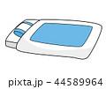 布団(ブルー) 44589964